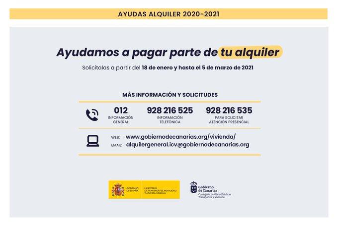 Ayudas a la vivienda de Canarias