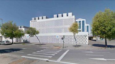 Sede de EMVISESA, para solicitar un piso de alquiler social en Sevilla.