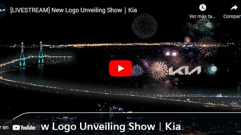 Video de la presentación del nuevo logo de Kia