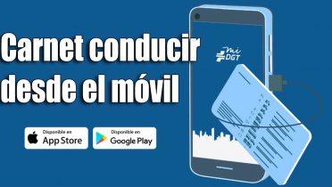 Cómo llevar el carnet de conducir en el móvil con la app de la DGT