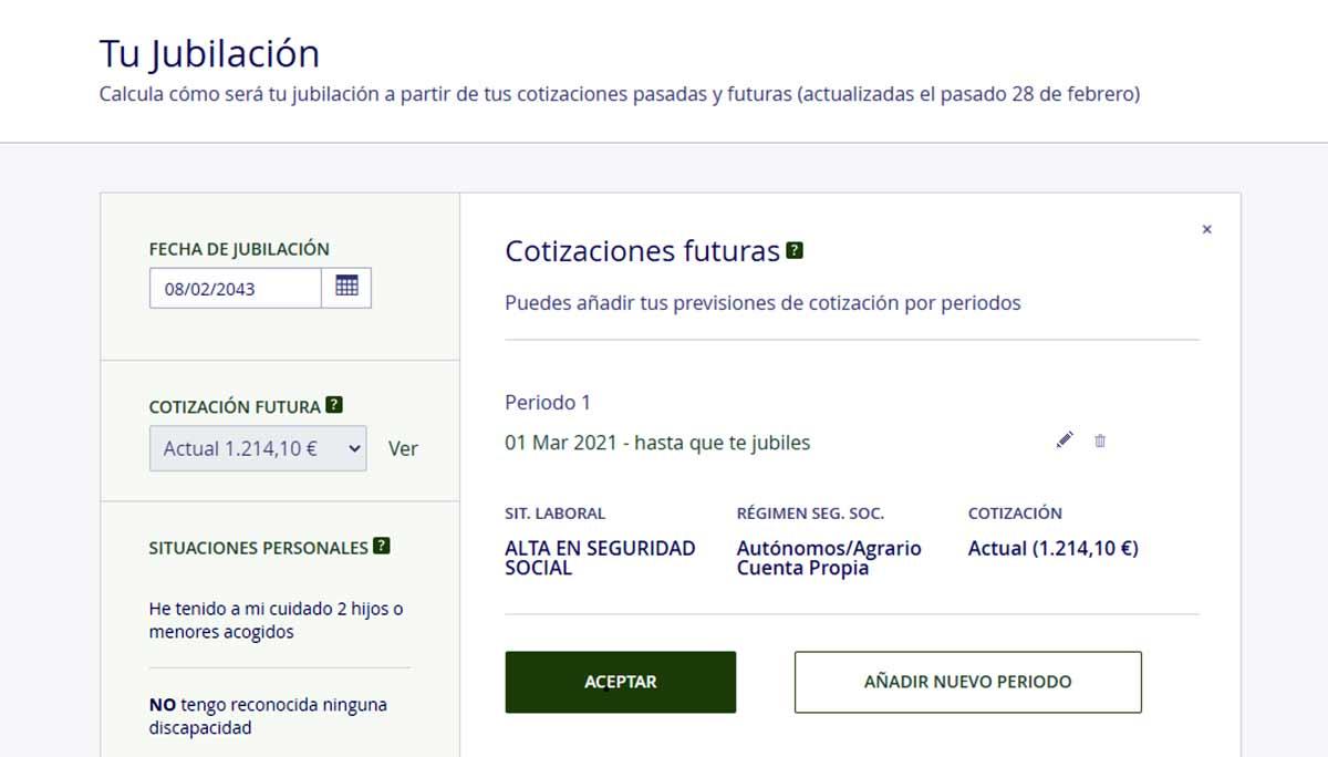 Cotizaciones futuras