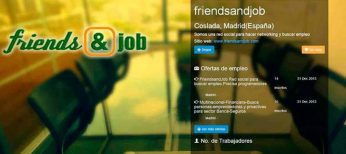 La red social Friendsandjob permite cuidar tu marca personal con un blog