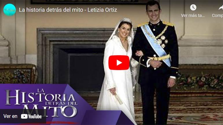 Video sobre la historia de amor del Príncipe Felipe y Letizia