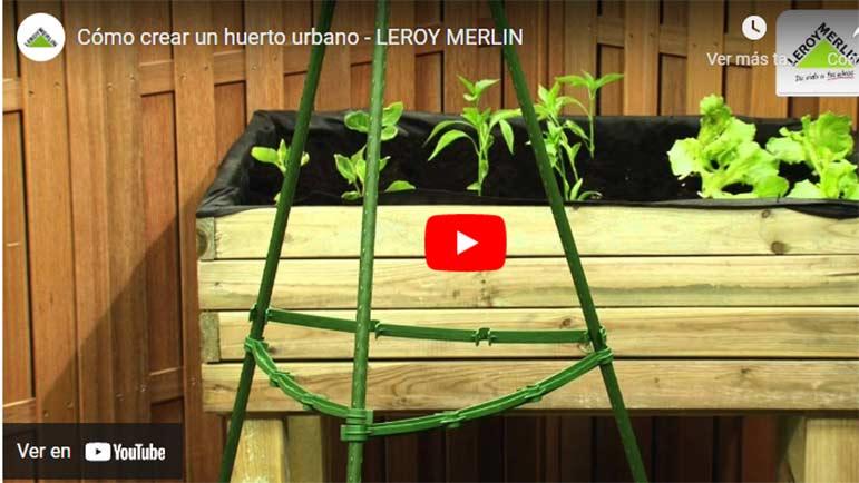 Video sobre cómo hacer un huerto urbano en casa