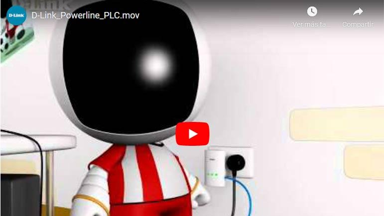 Video explicativo sobre cómo llevar señal de Internet por los cables de la luz y enchufes