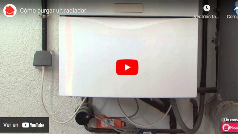 Video explicativo de cómo purgar un radiador