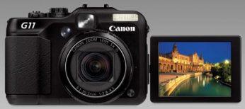 La PowerShot G11 presenta lo último en cámaras digitales con Sistema Dual contra el Ruido