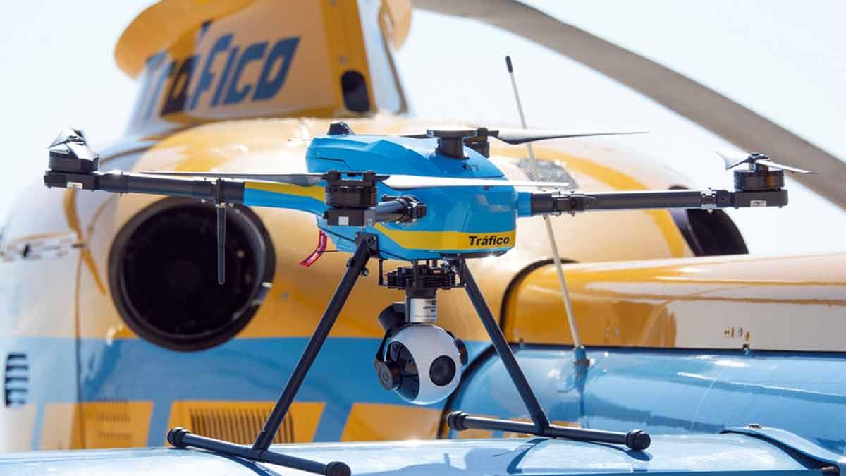 Dron de tráfico