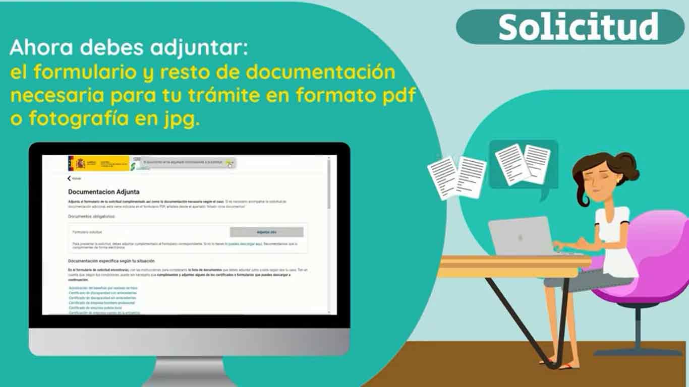 Adjuntar documentos a la sede electrónica de la Seguridad Social
