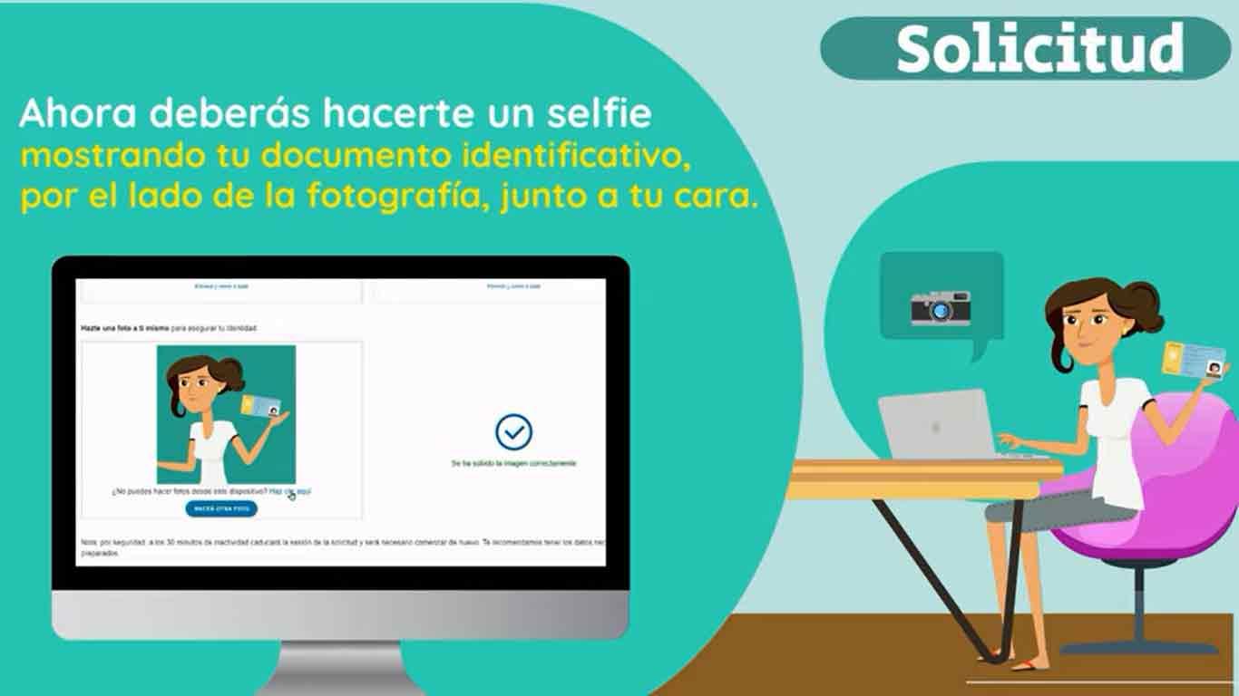 Hacer un selfie para identificarte en la Seguridad Social