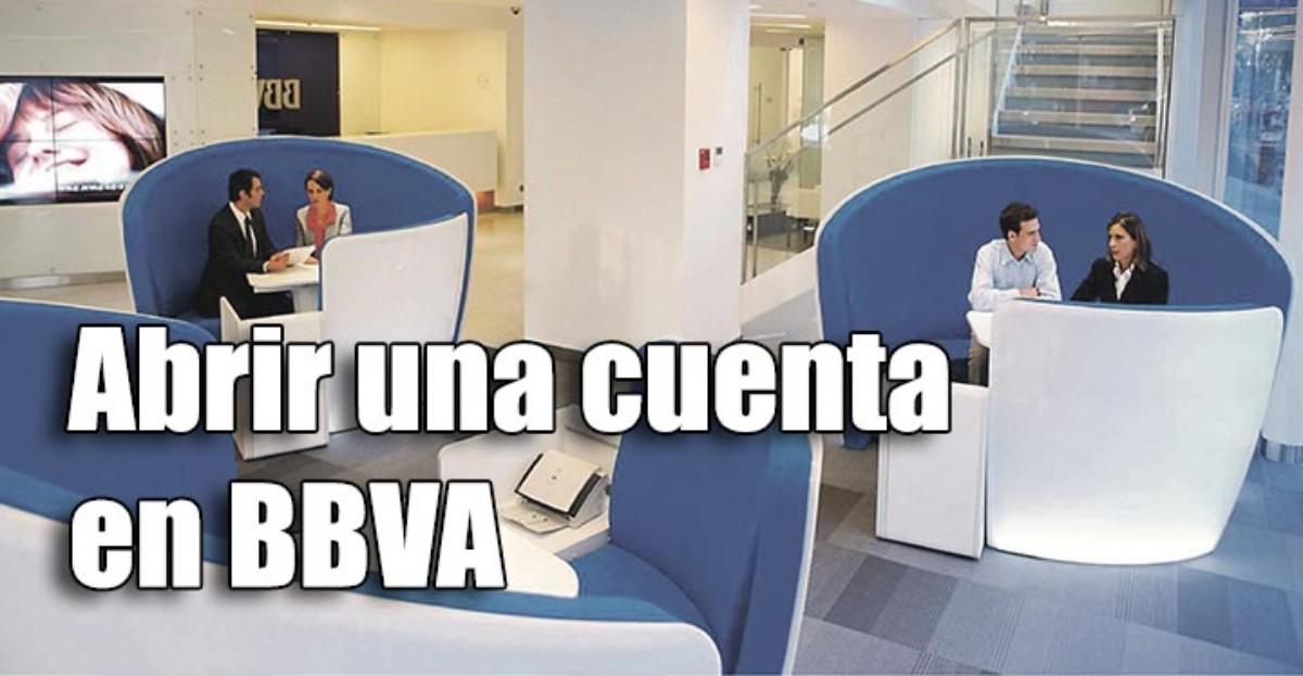 Abrir una cuenta bancaria en el BBVA