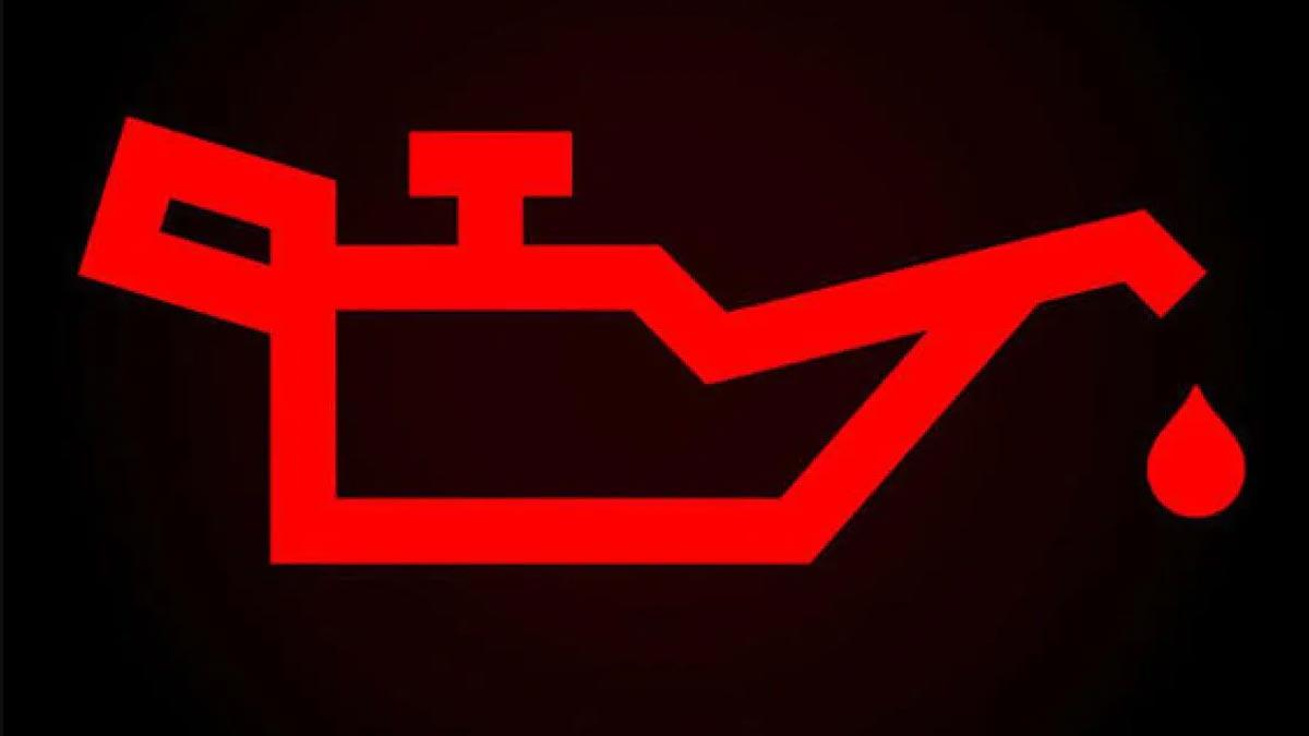 Testigo del aceite del motor