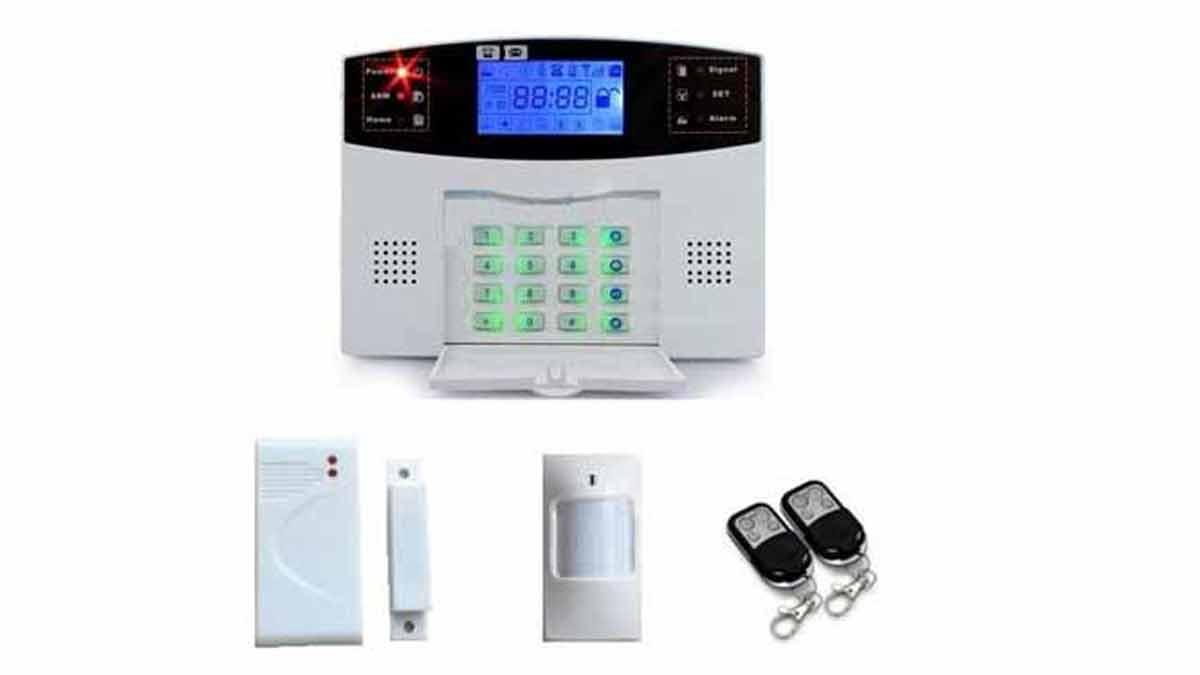 Ejemplo de dispositivo de una alarma sin cuotas