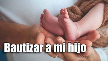 Trámites para bautizar a un niño en España