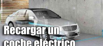 Puntos de recarga de un coche eléctrico en España