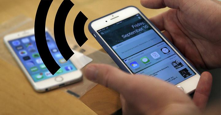 Compartir Internet del móvil