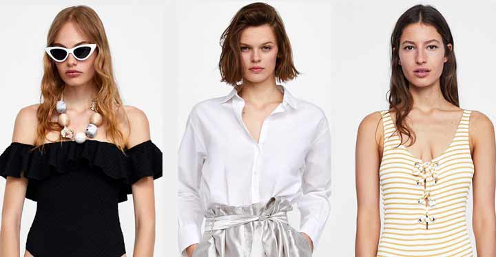 Ropa que se puede comprar en Zara online