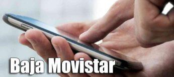 Cómo darse de baja en Movistar