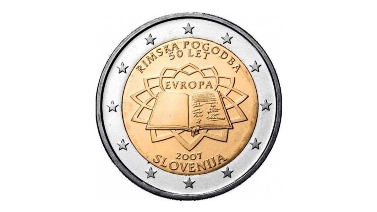 Moneda de dos euros Eslovenia
