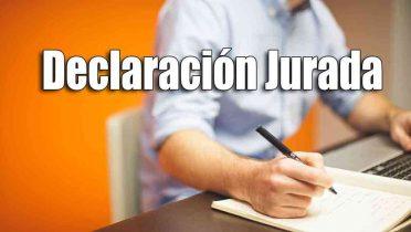Cómo hacer una declaración jurada