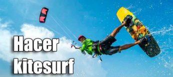 Equipo necesario para hacer kitesurf y dónde practicarlo