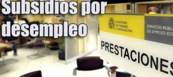 Subsidios por desempleo que se pueden pedir (SED 450 euros)