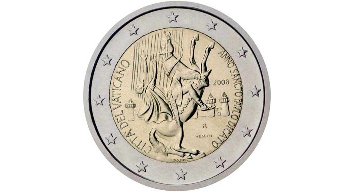 Moneda conmemorativa Vaticano