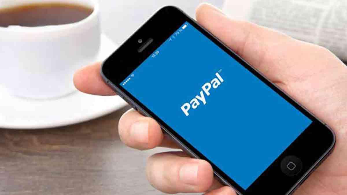 Aplicación PayPal para pagar desde el teléfono