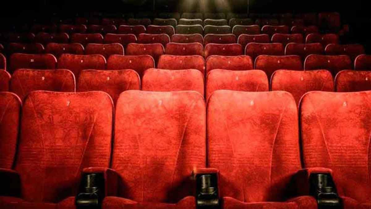 Butacas de cine vacías