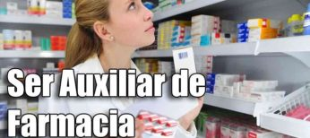 Cursos para ser Auxiliar de Farmacia