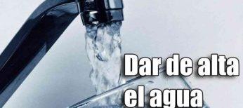 Cuánto cuesta dar de alta el agua