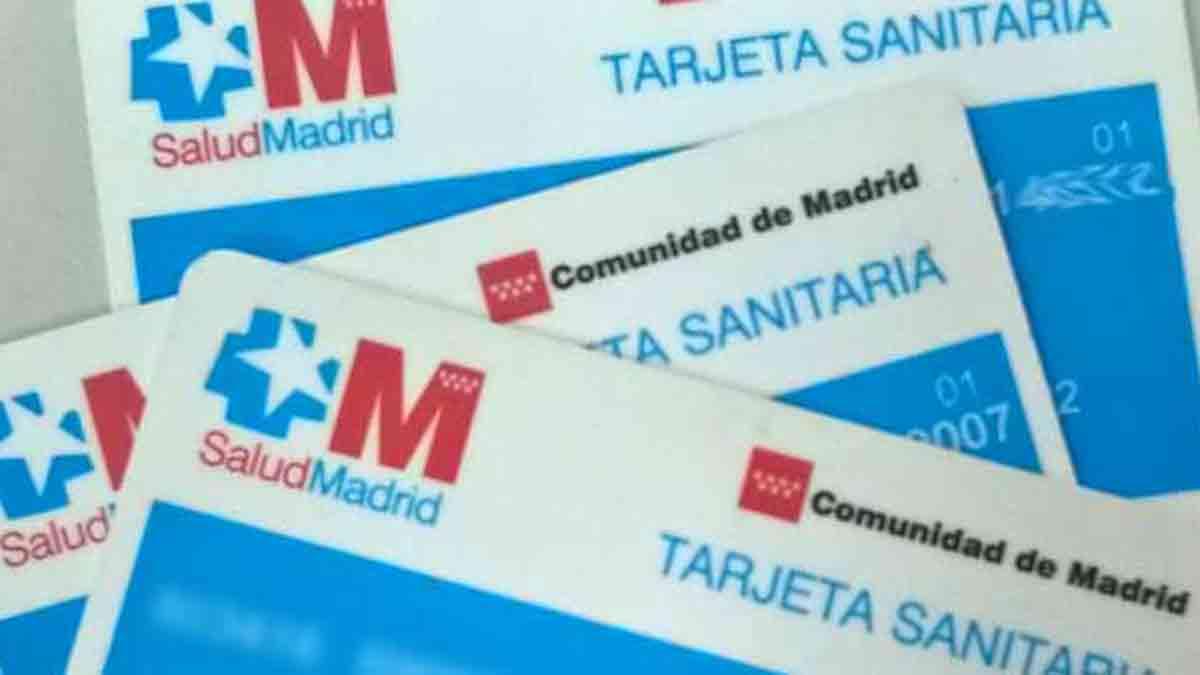 Tarjeta sanitaria en Madrid