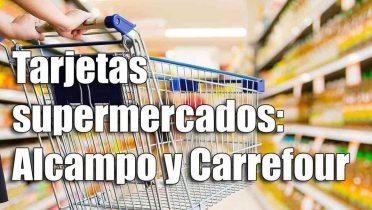 Comparativa de la tarjeta Pass Carrefour, Alcampo y Eroski de los supermercados