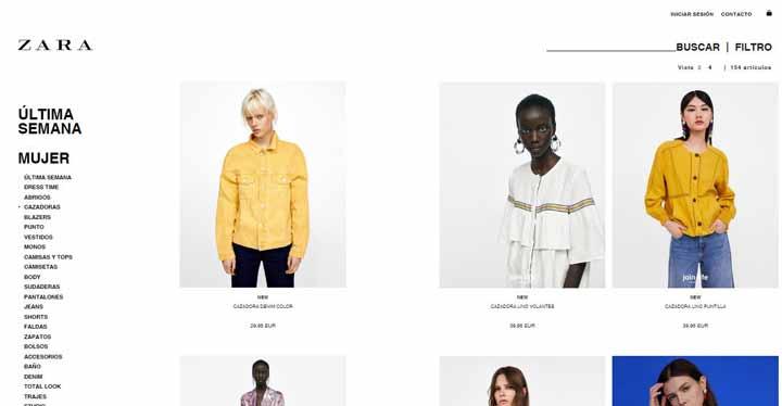 Qué se necesita para hacer la compra online en Zara